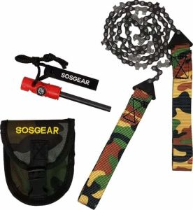 SOS Gear Hand Pocket Chainsaws
