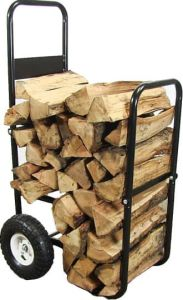 Sunnydaze Firewood Cart Log Dollies